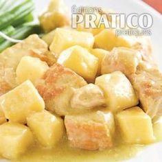 Cari de porc épicé aux pommes à la mijoteuse - Recettes - Cuisine et nutrition - Pratico Pratique