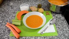 #Receta de Crema de Calabaza. #LasRecetasdelHortelano #Receta #Calabaza #Sopa #Soup #Crema #Verduras