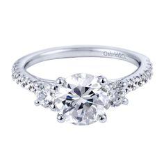 Gorgeous 3 Diamond Engagement Ring