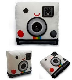 mini pillow polaroid camera