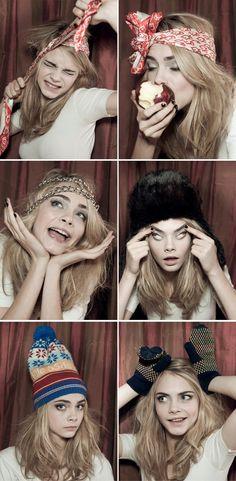 画像 : 超絶美人なのにお笑い系?Cara Delevingne カーラ・デレヴィーニュ 私服冬の着こなし - NAVER まとめ