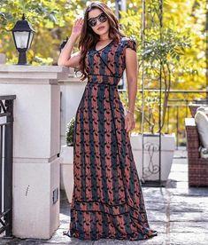 Bohemian maxi dress, boho style clothing, boho-chic clothes, gypsy summer long dress on boho boutique Casual Dresses, Fashion Dresses, Summer Dresses, Maxi Dresses, Maxi Dress With Sleeves, Dress Skirt, Edgy Outfits, Pattern Fashion, Boho Dress
