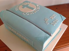 The Bible - First Holy Communion cake
