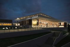 Towson University Tiger Arena, Towson MD - Hord Coplan Macht, Inc. in association with Sasaki