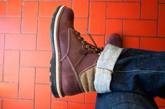 My new Clarks,Malvern Ridge boots. I have really awkward feet...