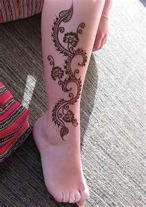 leg henna   Flickr - Photo Sharing!