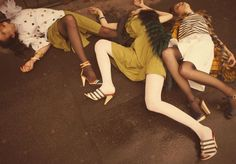 'Ordinary Accidents' Hannah Noble, Anna Millonig & Agne Petkute by Alessio Bolzoni
