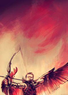 The Avengers - Hawkeye by Alice X. Zhang