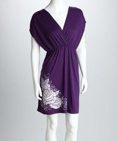 Purple Rose Dress $13.99