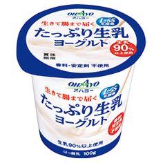 たっぷり生乳ヨーグルト 100g
