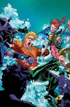 """EN MAYO 2017 AQUAMAN # 22 Escrito por DAN ABNETT  Arte de PHILIPPE BRIONES  Portada de BRAD WALKER y ANDREW HENNESSY  Variante de JOSHUA MIDDLETON Minoristas: Este número se enviará con dos cubiertas. Consulte el formulario de pedido para obtener más detalles. """"H20"""" final! Dead Water ha tomado posesión de uno de los principales aliados de Aquaman y él debe correr para encontrar una cura para la condición del Agente Ajar ya que causa estragos en la base. Incluso si tiene éxito el próximo…"""