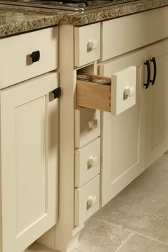 Kitchen Cabinet Spice Drawers - It's time to take a brand new look in the house design and consider the kitchen cabinet pantr