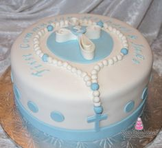 Rock Candy Cakes Livermore :: Christening w/ Rosary