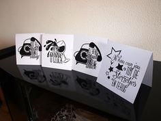 Typografie Kaarten - Naomi Typografie - www.naomitypografie.nl