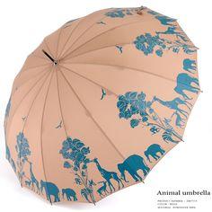 Animal umbrella サファリ柄 傘