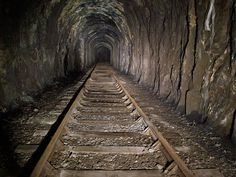 Tidenham tunnel.  Wye Valley by Midland Explorer Boy, via Flickr Welsh, Continents, Wonderful Places, Railroad Tracks, Abandoned, Explore, City, Left Out, Welsh Language
