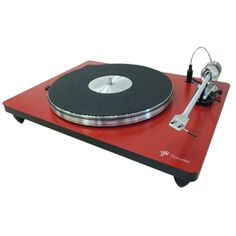 VPI Traveler Turntable - Red: $1,500 #VinylRecords #Records #RecordCollectors #RecordCollecting #SoundStageDirect #Turntables #Vinyl #VPI