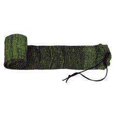 Tourbon Hunting Gun Accessories Silicone Treated Gun Sock Rifle Knit Firearm Sock Shotgun Cover Green Gun Case for Shooting