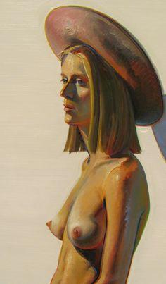 GIRL WITH PINK HAT (1973) - WAYNE THIEBAUD