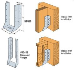 Structural Wood Framing Connectors from Simpson Strong-Tie and USP