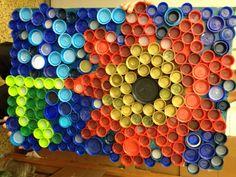Bottle Cap Art Mural - Bing Images