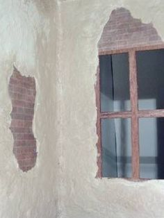 how to: aging plaster