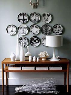 My design crush: Fornasetti - read more at www.karoliinakazi.com