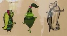 Disgust Inside out concept art