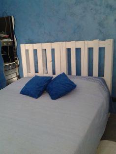 Parete + Testata Letto. Questo l'ho fatto io! Wall + Bed. I did it! #headboard