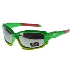 Cheap Oakley Jawbone Sunglasses polished green-white frames mirror lens | See more about frame mirrors, oakley and sunglasses.
