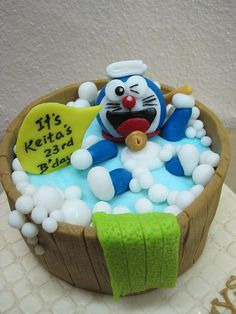 Doraemon's Shower Time!