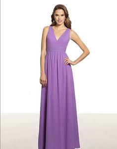 free shipping 2014 girls' dresses vestidos de fiesta Poly chiffon A-line halter open back natural waist pleated bridesmaid dress