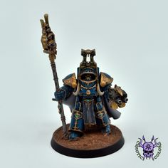 Thousand sons (Tzeentch) - Terminator Sorcerer #ChaoticColors #commissionpainting #paintingcommission #painting #miniatures #paintingminiatures #wargaming #Miniaturepainting #Tabletopgames #Wargaming #Scalemodel #Miniatures #art #creative #photooftheday #hobby #paintingwarhammer #Warhammerpainting #warhammer #wh #gamesworkshop #gw #Warhammer40k #Warhammer40000 #Wh40k #40K #chaos #warhammerchaos #warhammer40k #tzeentch #thousandsons #TerminatorSorcerer Thousand Sons, Warhammer 40000, Tabletop Games, Gw, Warfare, Minis, Miniatures, Change, Fantasy