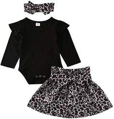 rechange 3Pcs Newborn Infant Baby Girl Mamas Mini Me Long Sleeve Romper Floral Pants Headband Set
