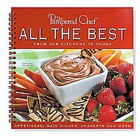 My favorite Pampered Chef cookbook. If you don't know how to make the wreath, rings or braids...it shows you how in this book. Love their recipes and have almost all their cookbooks.