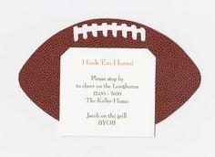 Football Invitation, Pack of 10 Enchante