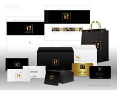 """Концепция #2.  Фирменный стиль для компании """"Наше золото"""""""