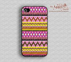 Aztec iPhone 4 Case, iPhone 4s Case, iPhone 4 Hard Plastic Case, Personalized iPhone Case--water proof on Etsy, $8.99