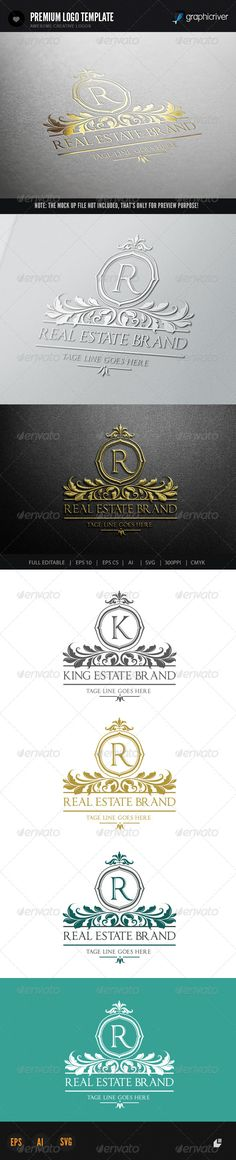 Real Estate Brand  #GraphicRiver         This logo design for all creative business. Consulting, Excellent logo,simple and unique concept.  Logo Template Features   AI and EPS (Illustrator 10 EPS) 300PPI  CMYK  100% Scalable Vector Files  Easy to edit color / text  Ready to print  Font information at the help file    If you buy and like this logo, please