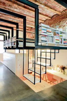 Charles Enrich - Refurbishment of a patio-house in Gracia - Barcelona