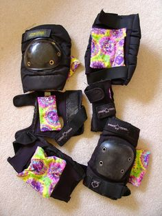 Sweat suckers for safety gear. Keep them smelling fresh no matter how hard you practice. lisa_pett