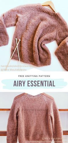 Easy Sweater Knitting Patterns, Free Knitting Patterns For Women, Knitting For Beginners, Start Knitting, Sweaters Knitted, How To Make Scarf, Quick Knits, Couture, Warm