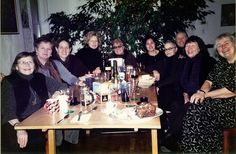 Carey Lovelace with some of the artists who created the wave of feminist art that started in the 1970s.