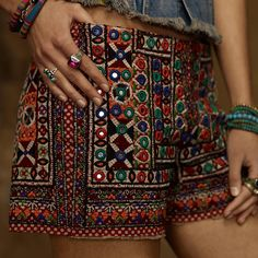 Embellished shorts. Denim & Supply by Ralph Lauren