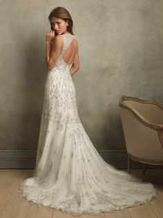 The back of the dress I just posted. $365
