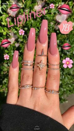 In search for some nail designs and ideas for your nails? Listed here is our listing of must-try coffin acrylic nails for modern women. Summer Acrylic Nails, Best Acrylic Nails, Acrylic Nail Designs, Acrylic Summer Nails Coffin, Pink Summer Nails, Aycrlic Nails, Hair And Nails, Coffin Nails, Toenails