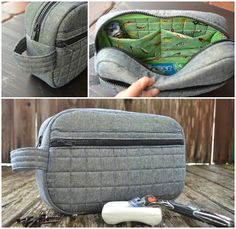 Blue Susan makes: Passport to Summer Toiletry Bag Tutorial