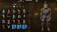 Ancient Armor, Game Interface, Legend Of Zelda Breath, Breath Of The Wild, Cosplay, Gaming, Characters, Ideas, Videogames