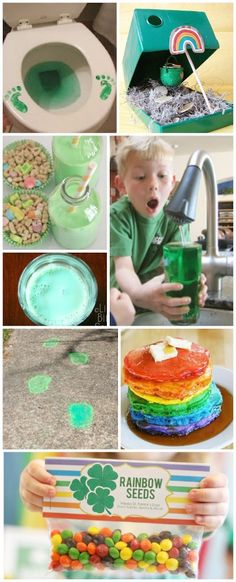 10 MAGICAL WAYS TO CELEBRATE ST. PATRICK'S DAY WITH KIDS. I love these ideas! #stpatricksday #stpatricksdayactivities #kidsactivities