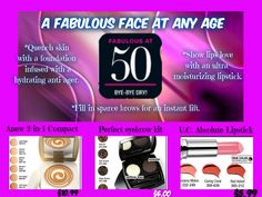 A Fabulous Face at Any Age! Beauty Besties for Every Decade. Get these great prices in Campaign 13 6/4-6/17/15